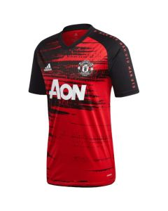 Man Utd 20/21 red pre-match jersey