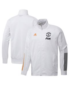 Man Utd white presentation jacket 20/21