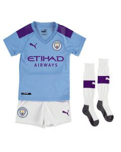 Manchester City Kids Home Kit 2019/20