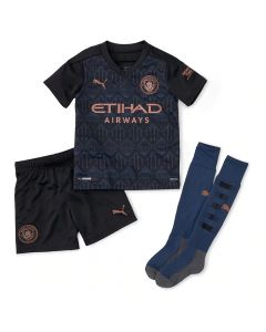 Manchester City Kids Away Kit 2020/21