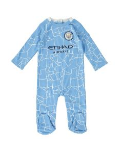 Manchester City Baby Sleepsuit 2020/21