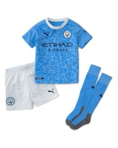 Manchester City Kids Home Kit 2020/21