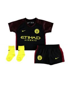 Manchester City Infant Away Football Kit 2016/17
