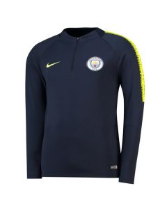 Manchester City Nike Navy Squad Drill Top 2018/19 (Adults)