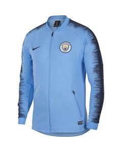 Manchester City Nike Blue Anthem Jacket 2018/19 (Adults)