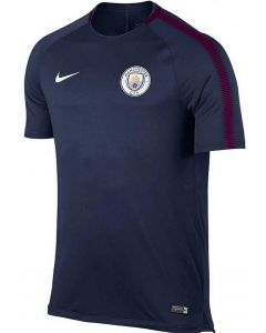 Manchester City Nike Kids Squad Training Shirt 2017/18 (Navy)