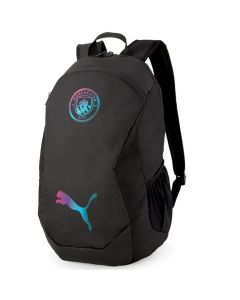 Man City final backpack front view.