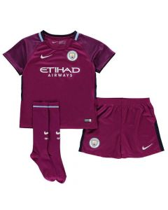 Manchester City Kids Away Kit 2017/18
