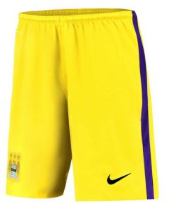 Manchester City Kids Change Goalkeeper Shorts 2015 - 2016