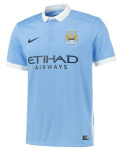 Manchester City Kids Home Jersey 2015 - 2016