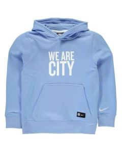 Manchester City Kids Hoodie 2016-17 (Blue)