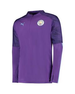 Manchester City Kids Purple ¼ Zip Training Top 2019/20