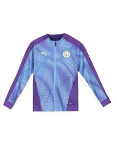 Manchester City Kids Purple Stadium Jacket 2019/20