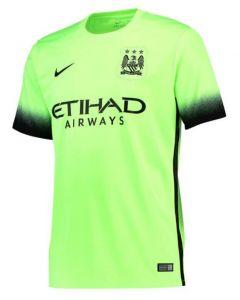 Manchester City Kids Third Jersey 2015 - 2016