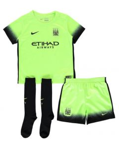 Manchester City Kids Third Kit 2015 - 2016