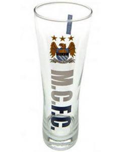 Manchester City Peroni Glass
