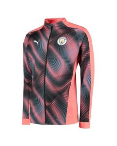 Manchester City Pink Stadium Jacket 2019/20