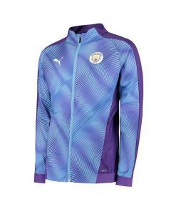 Manchester City Purple Stadium Jacket 2019/20