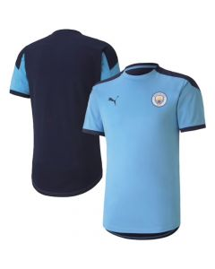 Manchester City sky blue training jersey 20/21