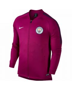 Manchester City Squad Track Jacket 2017/18 (True Berry)