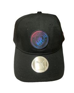 Man City Black Baseball Cap