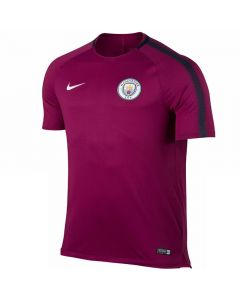 Manchester City Squad Training Jersey 2017/18 (True Berry)