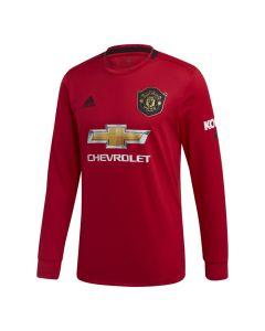 Manchester United Kids Long Sleeve Home Shirt 2019/20