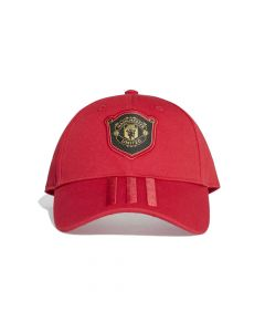 Manchester United Red 3 Stripe Cap 2019/20