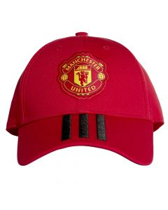 Manchester United 3 Stripe Baseball Cap 2018/19