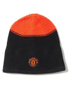 Manchester United Adidas Beanie Hat (Black)