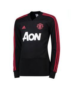 Manchester United Adidas Black Training Top 2018/19 (Kids)