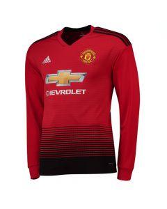 Manchester United Kids Long-Sleeve Home Shirt 2018/19