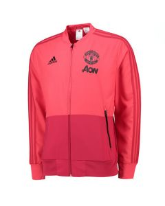 Manchester United Adidas Pink Presentation Jacket 2018/19 (Kids)