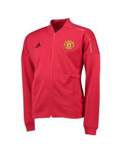 Manchester United Adidas Red ZNE Jacket 2018/19 (Adults)