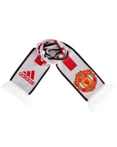 Manchester United Adidas Scarf (White)