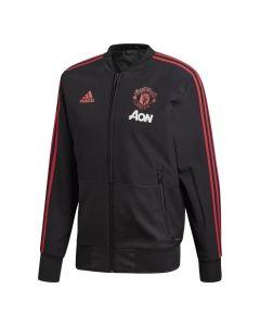 Manchester United Adidas Black Presentation Jacket 2018/19 (Adults)
