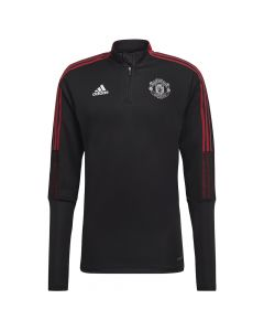 Manchester United Black Training Top 2021/22