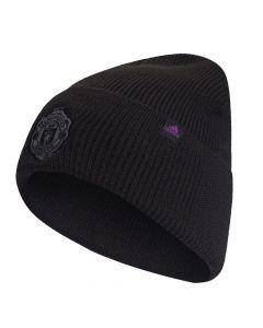 New Adidas Manchester United black wool hat