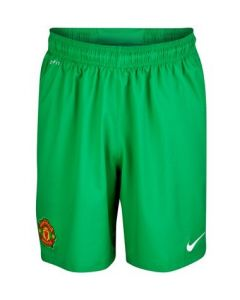Manchester United Boys Home Goalkeeper Football Shorts 2012-13