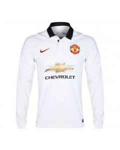 Manchester United Long Sleeve Away Jersey 2014 - 2015