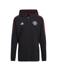 Manchester United Black Presentation Jacket 2021/22