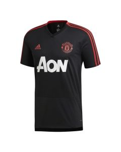 Manchester United Adidas Black Training Jersey 2018/19 (Kids)