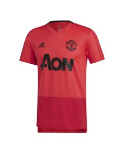 Manchester United Adidas Pink Training Jersey 2018/19 (Kids)