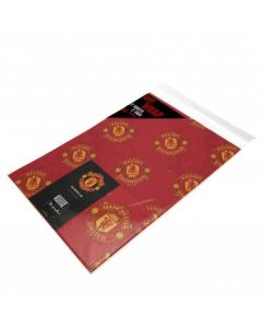 Manchester United Crest Wrapping Paper
