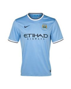 Manchester City Home Football Jersey 2013-14