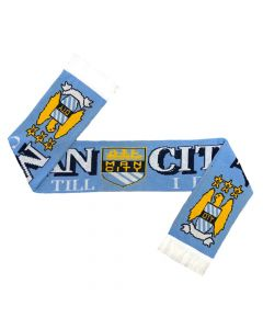 Manchester City Jacquard Scarf