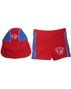 Manchester United Boys Trunks and Hat Set