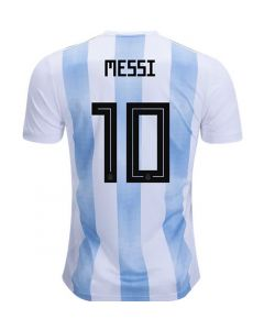 Messi 10 Argentina Adidas Home Shirt 2017/19 (Kids 7-8 Years)