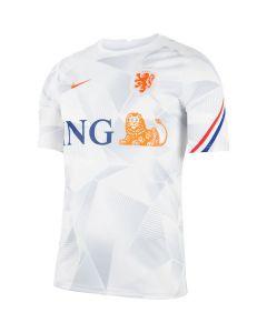Netherlands White Pre-Match Jersey 2020/21