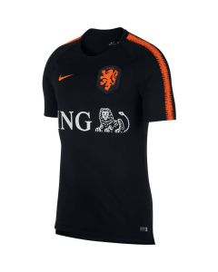 Netherlands Nike Black Training Jersey 2018/19 (Adults)